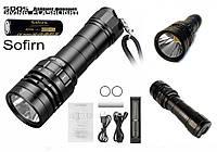 Дайвинговый подводный фонарь SOFIRN SD05 (2550LM, Cree XHP 50.2, 4000mAh*21700+Зарядное устройство)
