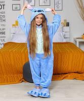 Детская пижама кигуруми стич рост 100, 120, 130, 140 см
