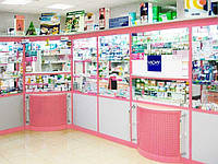 Мебель для аптеки на заказ