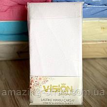 Простынь на резинке махровая 230х250см Простынь VISION Premium 100% - Хлопок Производитель -Турция