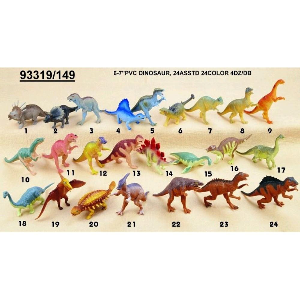 Динозавр Гонконг 149 гум. 6-7 48шт.в кор.30 5*22 2 *12 7