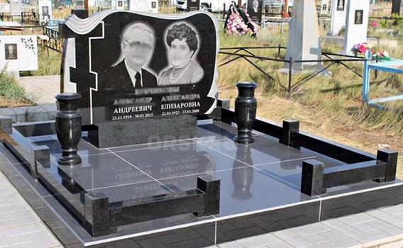 Памятники на двоих в Днепре