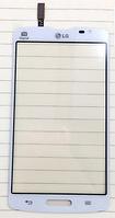 Тачскрин / сенсор (сенсорное стекло) для LG Optimus L80 D373 (белый цвет)