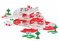 Детская парковка скорая помощь wader (53330)