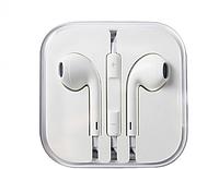 Наушники еирподс АА Apple iPhone Earpods с яблокомм