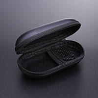 Бокс / футляр / кейс / кофр / чехол для наушников / флешек / мелочей овальный жёсткий (EVA) на молнии