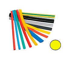 Термоусаджувальна трубка ТТН2х1 10/5 жовта (1м)