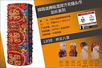 Баф бандана повязка косынка балаклава летняя торговой марки TUTNGEAR (ДЛИНА - 60 см) 030