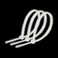 Кабельна стяжка 5х250 біла (100шт)