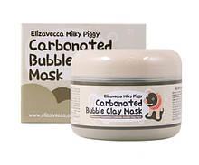 Маска для обличчя глиняно-бульбашкова Elizavecca Milky Piggy, 100 мл