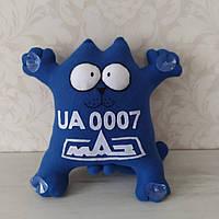"""Іграшка в машину """"Кіт Саймона"""" номерний знак МАЗ 32 см"""
