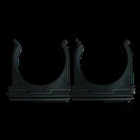 Кріплення для труб і кабелю  D50 (25 шт)  чорне