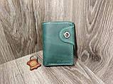 Кожаный кошелек ручной работы, фото 4