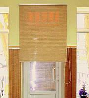 Рулонные шторы из натуральных тканей шикатан под заказ в Одессе