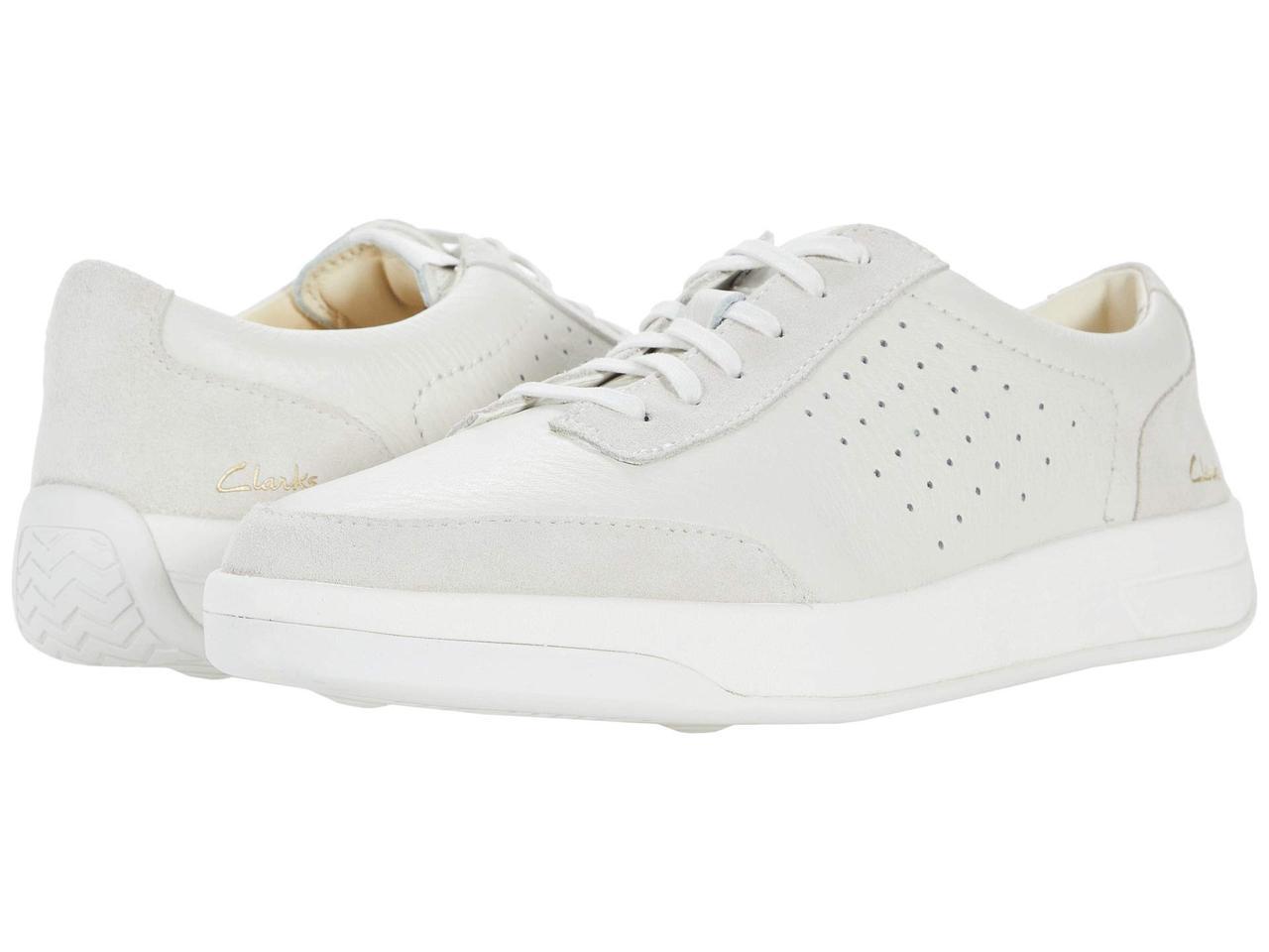 Кроссовки/Кеды (Оригинал) Clarks Hero Air Lace White Leather