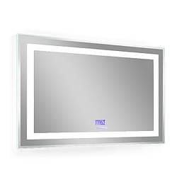 Зеркало 80*70см, с подсветкой, bluetooth, дата, время, температура, радио (мебель под умывальник VERITY LINE)