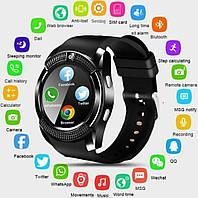 Наручний годинник Smart Watch V8 смарт вотч / розумні годинник / фітнес трекер / фітнес браслет