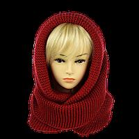 Снуд-Хомут классический 140*40 см. Красный