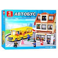Конструктор sluban школьный автобус серии город (b0333)