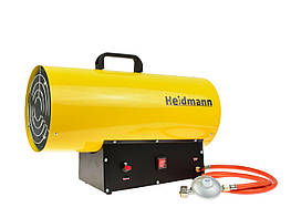 Газовый обогреватель с редуктором Heidmann H00753 40кВт