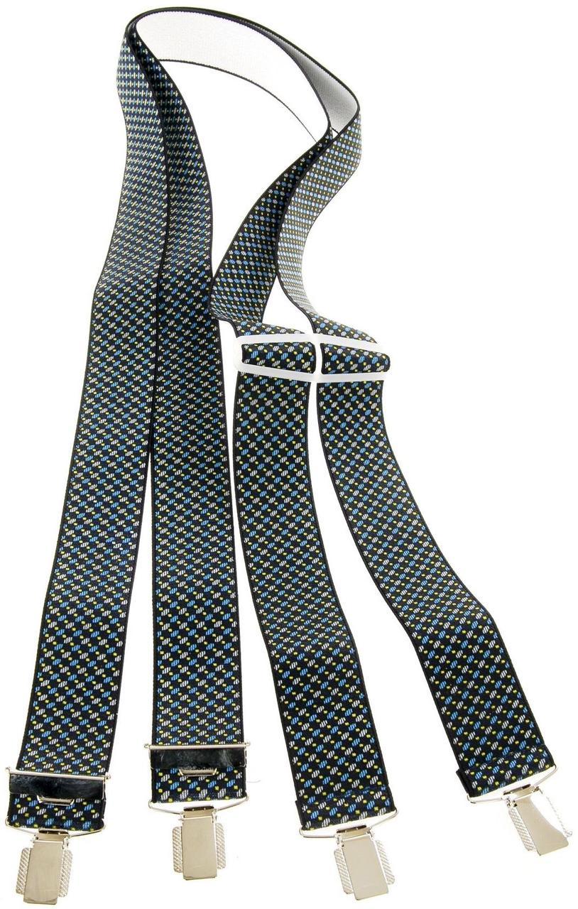 Мужские подтяжки для брюк 110 на 3,6 см KWM, Германия 220007