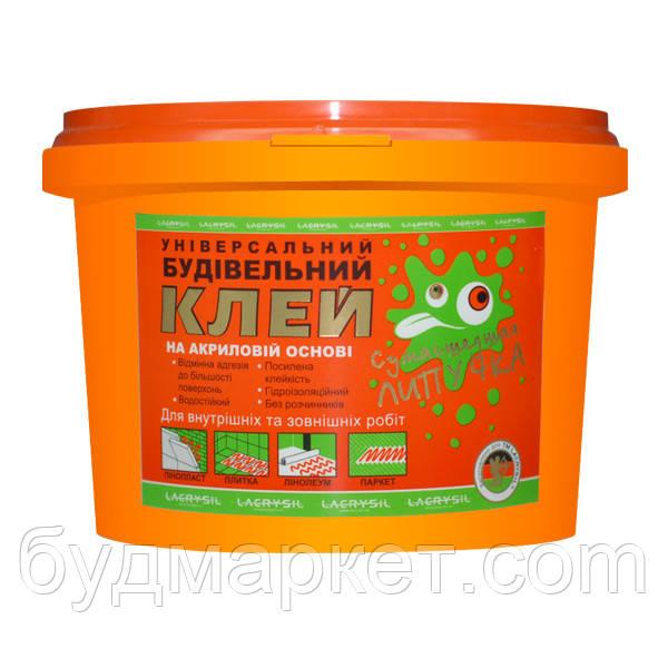 """Клей строительный универсальный """"Сумашедшая липучка"""" Lacrysil, 3 кг"""