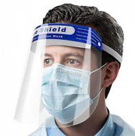 Маска прозрачная защитная FACE SHIELD (за упаковку 10шт.)