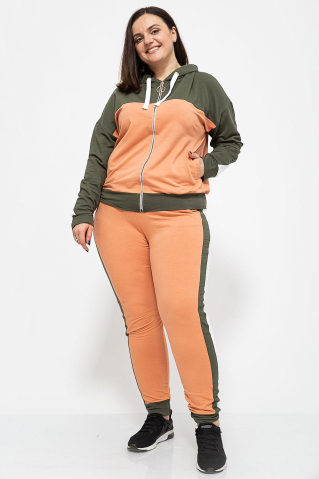 Спорт костюм женский 102R030-1 цвет Хаки