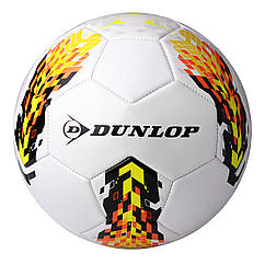 Футбольный мяч Dunlop  Soccer ball белый+желтый