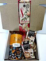 Подарок чайно-кофейный для женщин Цветок Апельсина ТМ Nadin