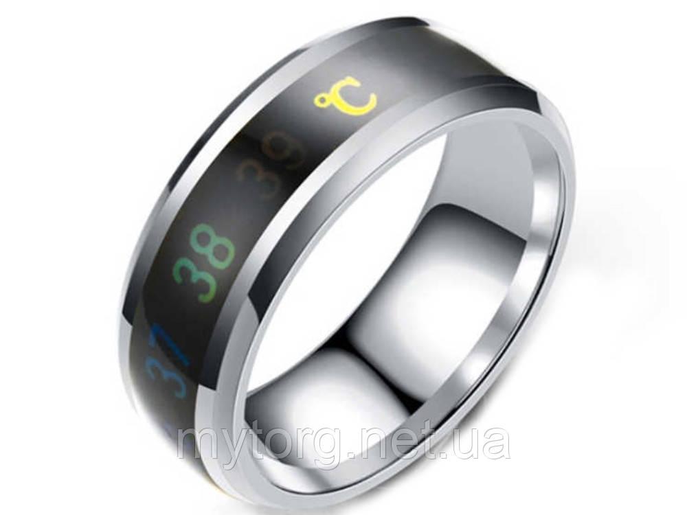 Кольцо- термометр Ailment размер 7 Серебристый