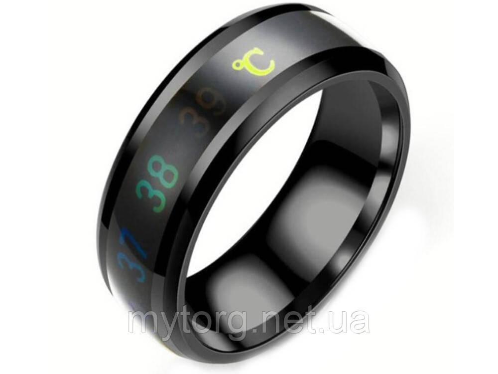 Кольцо- термометр Ailment размер 9 Черный