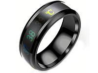 Кольцо- термометр Ailment размер 9 Черный, фото 1