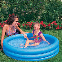 Надувной бассейн intex 114х114х25 см (59416)