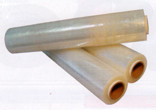 Плівка стретч ПВХ 30 см 9 мкм 1000гр (10рул/ящ) (жовта)