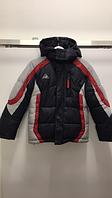 Зимняя тёплая куртка BOLAIHIDON Kids A-57 158 см синий