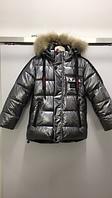 Зимняя тёплая куртка JPLT H-209 SILVER 110 см Серебряная