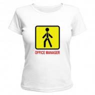 Офисная футболка женская