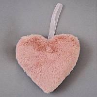 Сердце Yes! Fun пушистое розовое