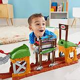 Fisher-Price Залізниця з розвідним пішохідним мостом GHK84 Thomas Friends TrackMaster Walking Bridge, фото 5
