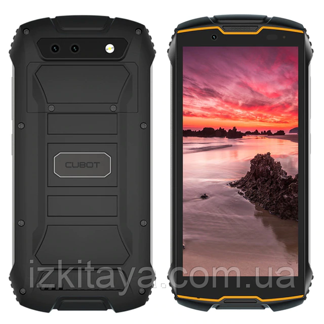 Смартфон Cubot King Kong Mini 2 orange-black 3/32 Гб захист IP68 + стартовий пакет Sweet TV у подарунок