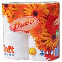 Туалетная бумага Диво белый