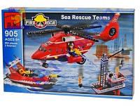 Конструктор brick пожарная тревога (905)