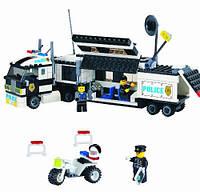 Конструктор мобильный полицейский штаб серии полиция brick (128)