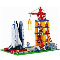 Конструктор Площадка запуска космического корабля Шаттл серии Космос Brick (515)