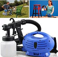 Краскораспылитель, краскопульт электрический, пульверизатор, прибор для окрашивания, Paint Zoom (Пэйнт зум)