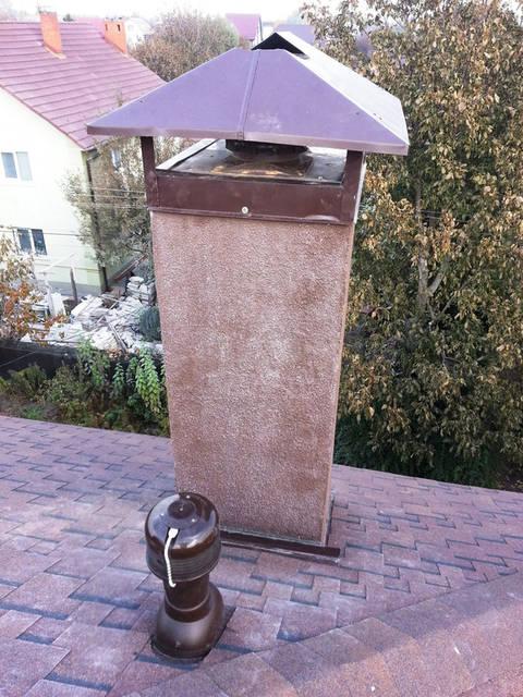 Гибридный вентилятор на крыше для вентиляции всего дома.
