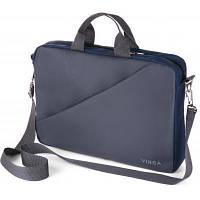 Сумка для ноутбука Винга Vinga 15.6 дюймов NB180GR gray-blue (NB180GR)