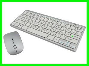Безпровідна Клавіатура + Миша Дизайн Apple (901) Відео Огляд ( ЧОРНІ )