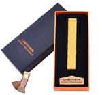 Электрическая USB Зажигалка Слайдер - Спираль в Подарочной Упаковке, фото 4